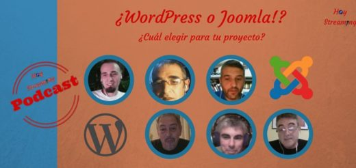WordPress o Joomla ¿Cuál elegir? podcast en HoyStreaming