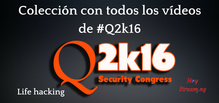 Todos los vídeos de Qurtuba Security Congress 2016 editados por Hoy Streaming