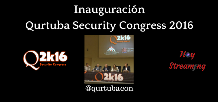 Acto de inauguración de Qurtuba Security Congress