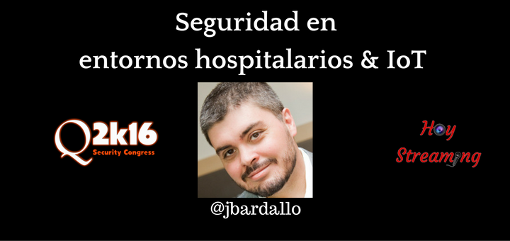 Conferencia de Josep Bardallo en Qurtuba Security Congress grabada por HoyStreaming