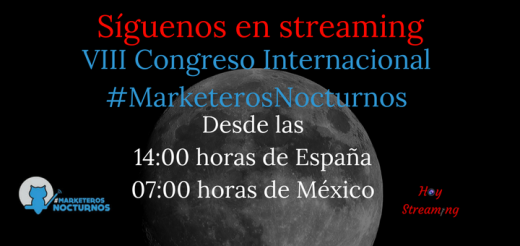 Streaming Congreso Marketeros Nocturnos de Murcia
