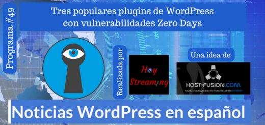 3 plugins wordpress con vulnerabilidades zero day