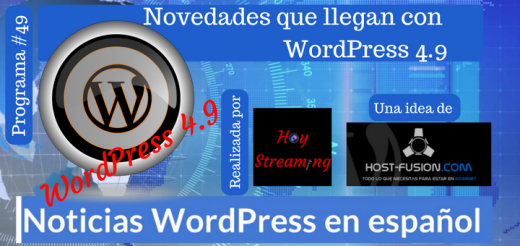 Publicada la primera beta de wordPress 4 9